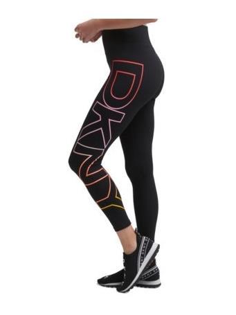 DKNY- Sport Ombre Logo Leggings BLACK