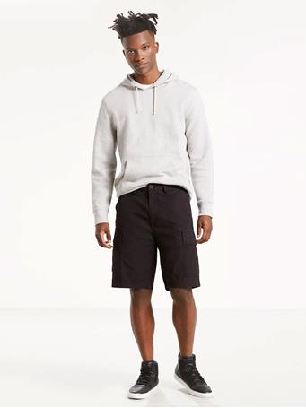 LEVIS - Carrier Cargo 9.5 In. Mens Shorts BLACK