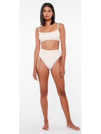 SANCTUARY - Seamed Bralette Top White Sand WHITE