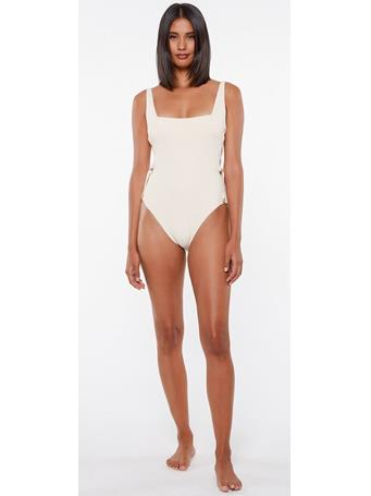 SANCTUARY -Sand 1 Piece Swimsuit WHITE
