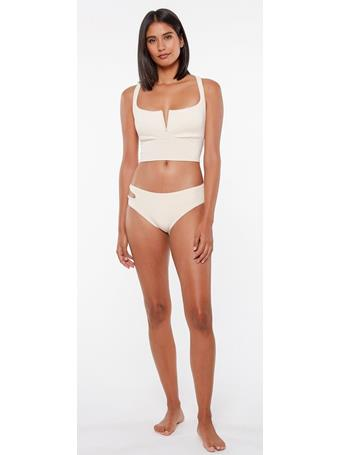 SANCTUARY - Cutout Midster White Sand Bottoms WHITE