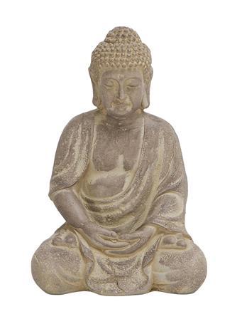EDEN & WEST - Fiber Stone Buddha GREY