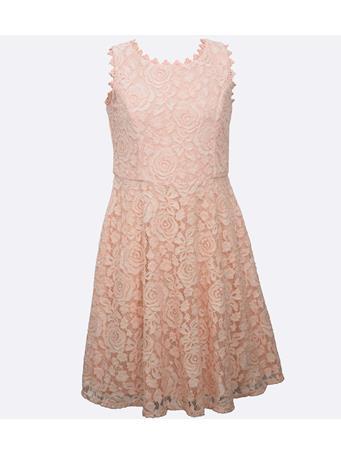 BONNIE JEAN - Lara Lace Dress PINK