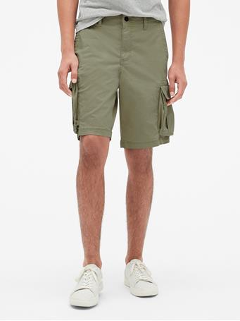 "GAP - 11"" Twill Cargo Shorts with GapFlex SURPLUS"