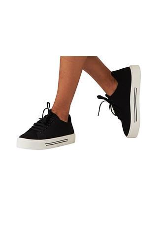 STEVEN MADDEN - Brava Solid Sneaker BLACK