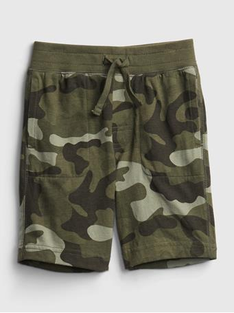 GAP - Toddler Organic Cotton Mix and Match Print Pull-On Shorts CAMOUFLAGE