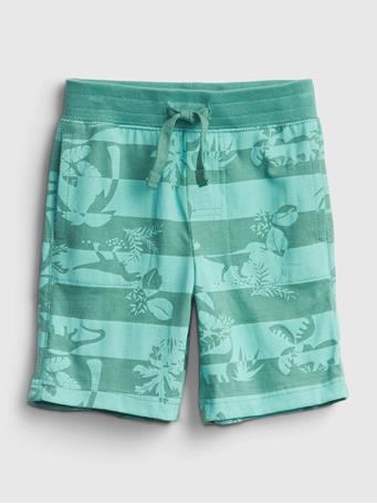 GAP - Toddler Organic Cotton Mix and Match Print Pull-On Shorts DINO
