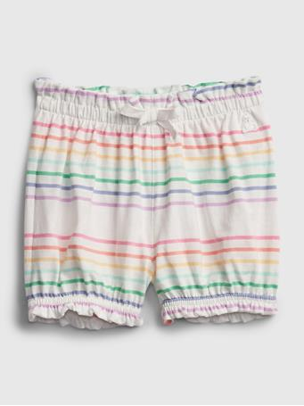 GAP - Baby Organic Cotton Mix and Match Pull-On Shorts MULTI STRIPE