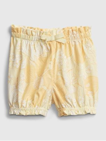 GAP - Baby Organic Cotton Mix and Match Pull-On Shorts HONEYSUCKLE