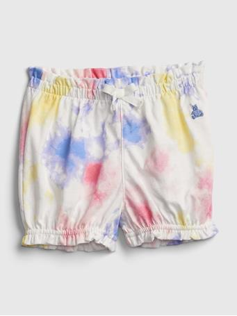 GAP - Baby Organic Cotton Mix and Match Pull-On Shorts TIE DYE