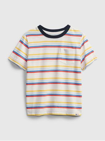 GAP - Toddler Organic Cotton Mix and Match Stripe T-Shirt MULTI