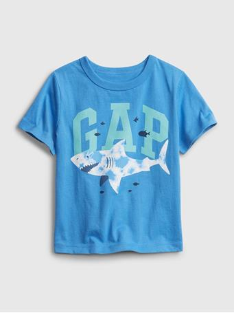 GAP - Toddler Organic Cotton Mix and Match Gap Logo T-Shirt AEROSPACE