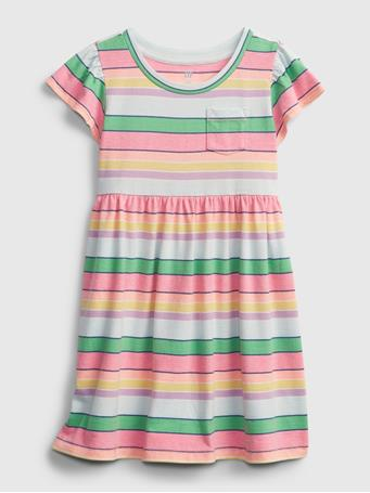 GAP - Toddler Skater Dress MULTI STRIPE