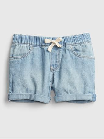 GAP - Toddler Pull-On Denim Shorts LIGHT WASH