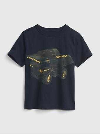 GAP - Toddler Organic Cotton Mix and Match Graphic T-Shirt BLUE GALAXY