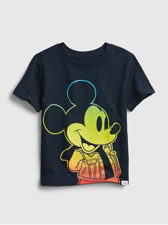 GAP - babyGap | Disney Mickey Mouse Graphic T-Shirt BLUE GALAXY