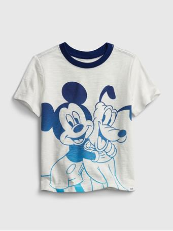 GAP - babyGap | Disney Mickey Mouse Graphic T-Shirt NEW OFF WHITE
