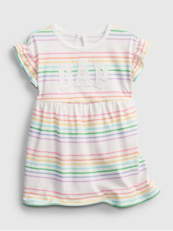 GAP - Baby Gap Logo Dress MULTI STRIPE