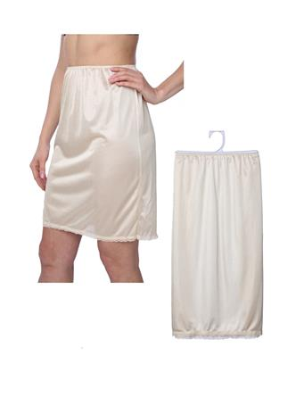 GOLDSTONE HOSIERY -  Half Slip Skirt BLACK