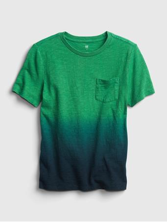 GAP - Kids Pocket T-Shirt IRISH CLOVER