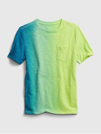 GAP - Kids Pocket T-Shirt CARMEL GREEN