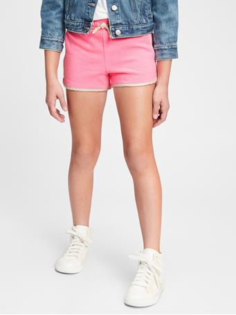 GAP - Kids Pull-On Dolphin Shorts NEON PINK