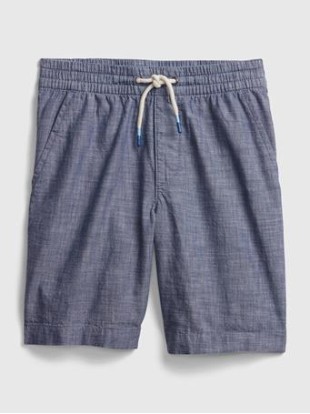 GAP - Kids Easy Pull-On Shorts CHAMBRAY