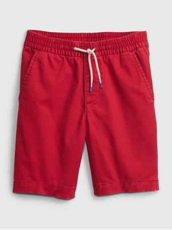 GAP - Kids Easy Pull-On Shorts PURE RED