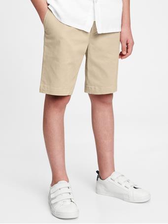 GAP - Kids Easy Pull-On Shorts KHAKI