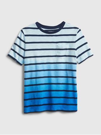 GAP - Kids Stripe Dip-Dye T-Shirt BRETON STRIPE