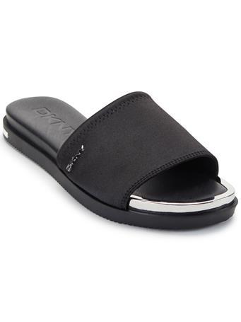DKNY - Briley Flat Slide BLACK
