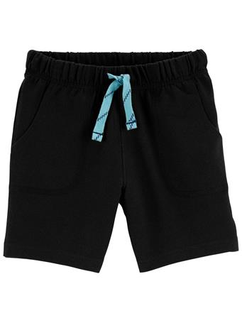 CARTER'S - Pull-On French Terry Shorts BLACK