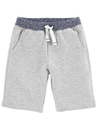 CARTER'S - Pull-On French Terry Shorts GREY