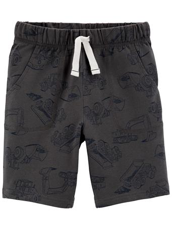CARTER'S - Car Pull-On French Terry Shorts GREY