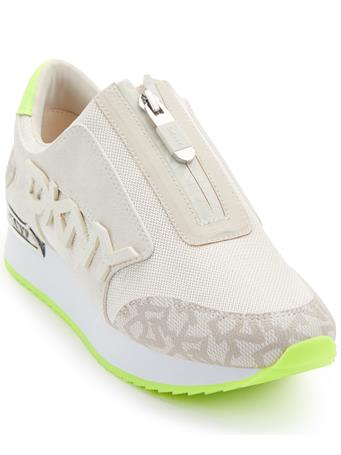 DKNY - Mareesa Zip Up Sneaker GREEN