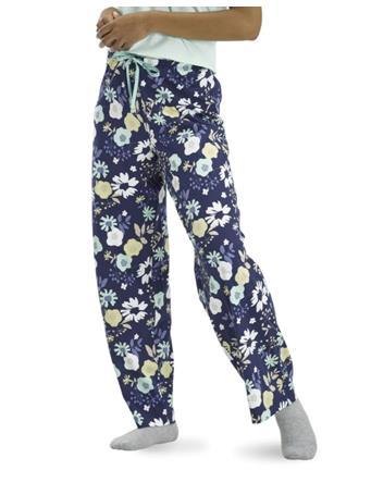 HUE - Destiny Floral PJ Pants NVY FLORAL