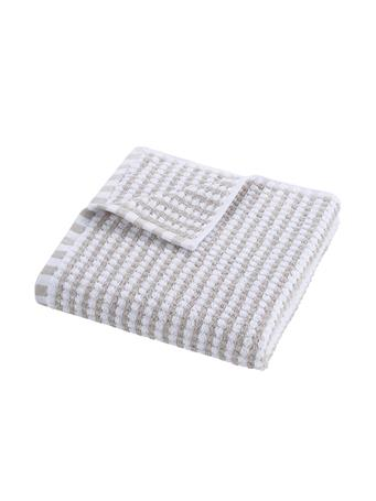 PINKADINKADEW Sally Grey & White Towel Collection GREY