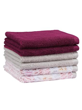 PINKADINKADEW - Judy Ogee Towel Collection CORAL