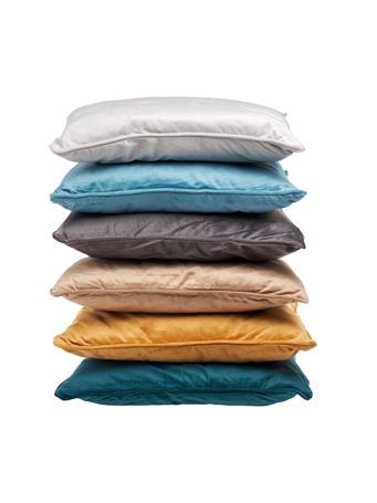 SIGNATURE DESIGN - Velvet Decorative Pillow TAUPE