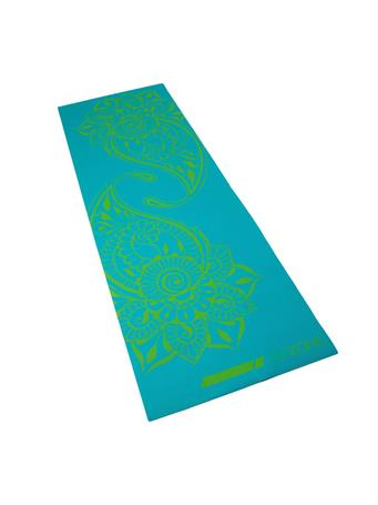 GO ZONE - 4MM  Yoga Mat with Pattern TEAL