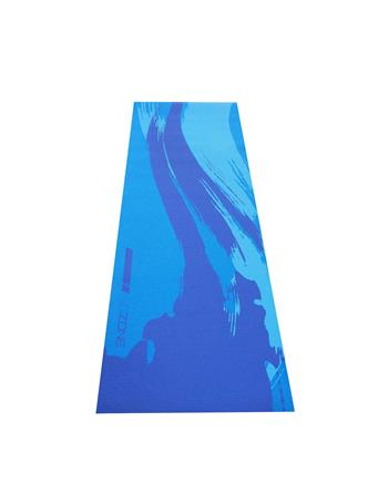 GO ZONE - 4MM  Yoga Mat With Pattern COOL COMBO