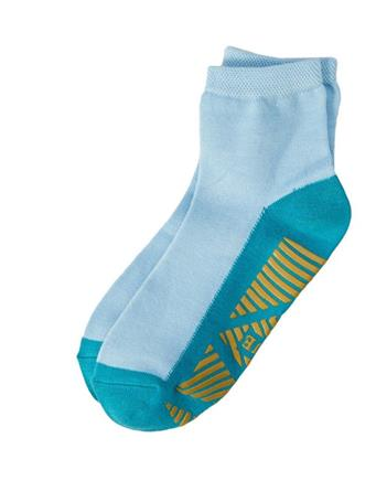 HUE -  Bamboo Home Shorty Socks with Gripper DREAMY