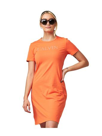 CALVIN KLEIN - Logo Sneaker Dress EMBER