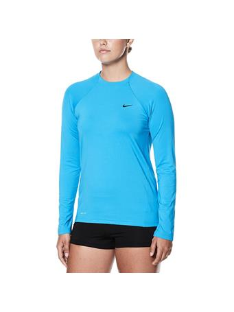 NIKE - Long Sleeve Swim Shirt 345 AQUA
