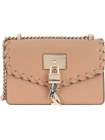 DKNY - Elissa Large Shoulder Bag SAND CASTLE