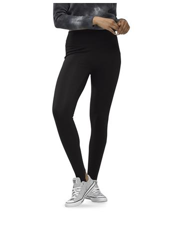 HUE - Theracom Laid Back Stirrup Leggings - Infused With Cbd BLACK
