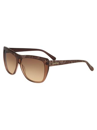 BEBE - Snake Print Frame Sunglasses TOPAZ