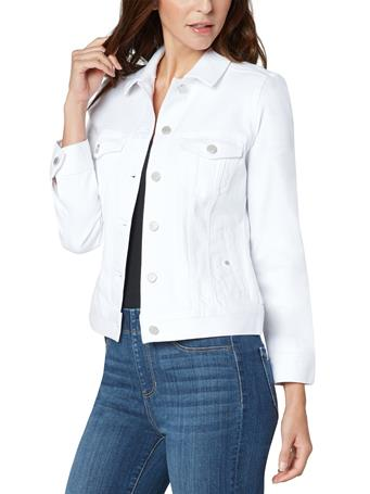 LIVERPOOL JEANS - Classic Jean Jacket BRIGHT WHITE
