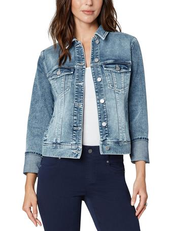 LIVERPOOL JEANS - Denim Jacket With Cuffed Sleeve MURRAY
