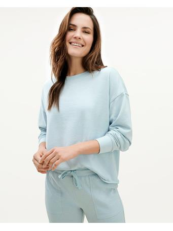 SPLENDID - Eco French Terry Pullover CLOUD BLUE